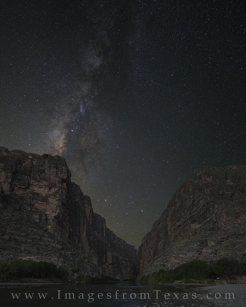 milky way, big bend national park, texas dark skies, big bend photos, santa elena canyon, photo