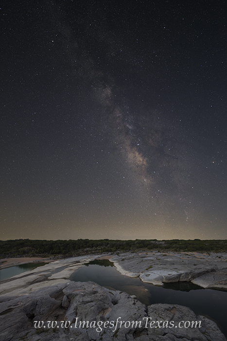 texas hill country images,pedernales river,pedernales falls,texas landscapes,milky way,milky way images, photo