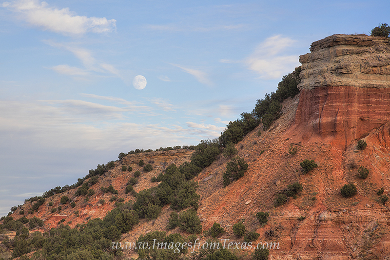palo duro canyon,texas landscapes,moonrise over texas,texas images,texas canyon, photo