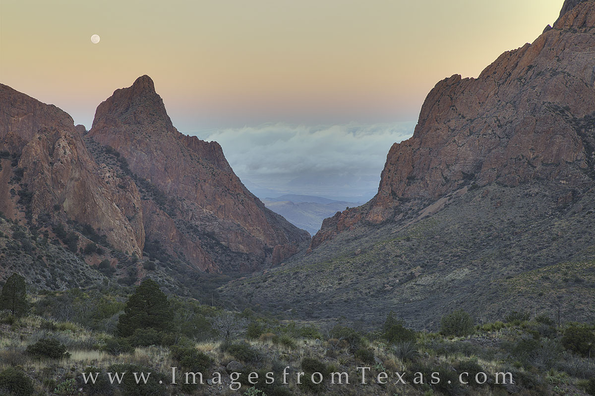 big bend national park, the window, chisos mountains, texas national parks, texas landscapes, texas tourists, texas hikes, moon, photo