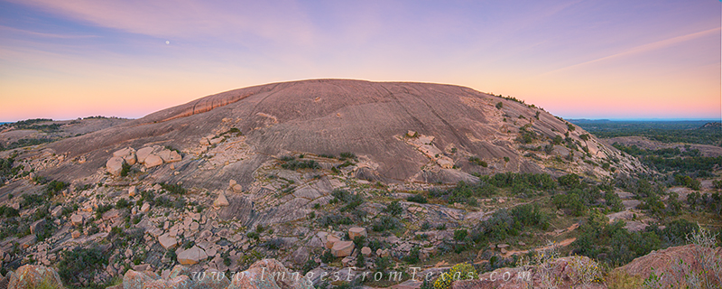 enchanted rock panorama,enchanted rock photos,enchanted rock state park,llano uplift,fredericksburg,texas landscapes,texas panoramas, photo