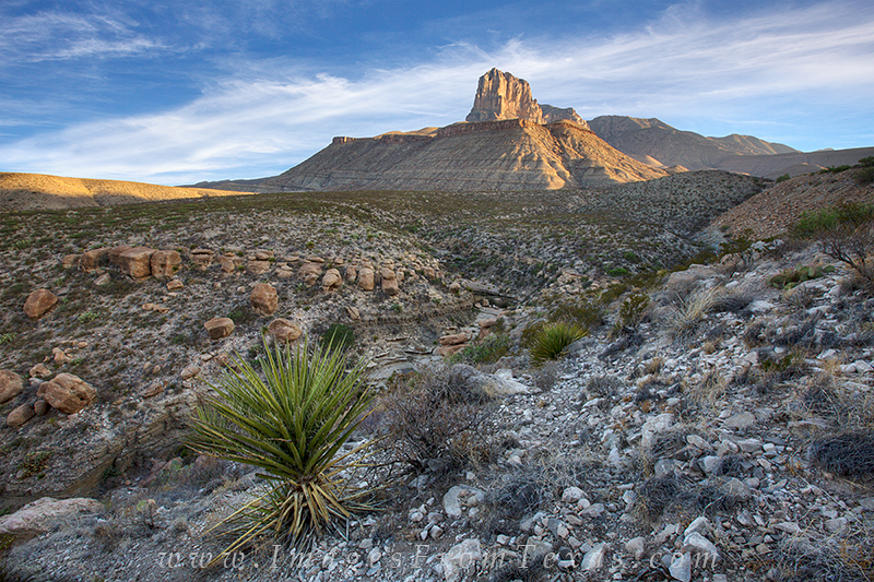 el captian texas,guadalupe mountains national park images,texas national parks,prints,texas landscapes, photo