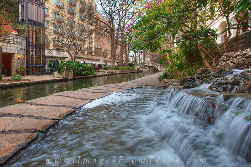 On a quiet morning just after sunrise, you can usually have the San Antonio Riverwalk all to yourself except for a few folks...