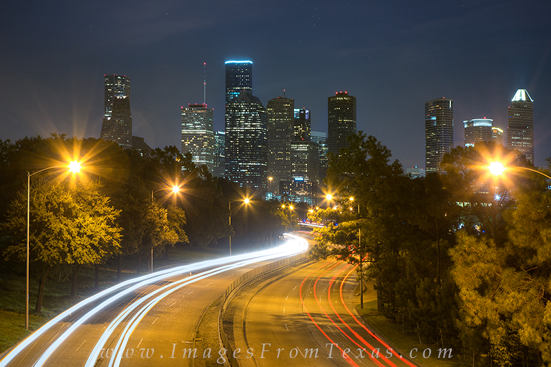 houston skyline,houston traffic images,houston cityscape, photo