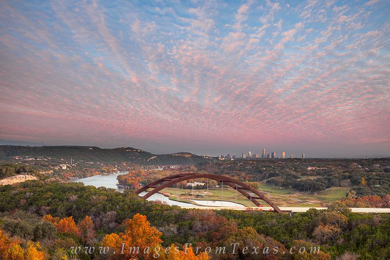 360 bridge prints,autumn colors in texas,austin texas bridges,austin bridge photos,austin skyline from 360, photo