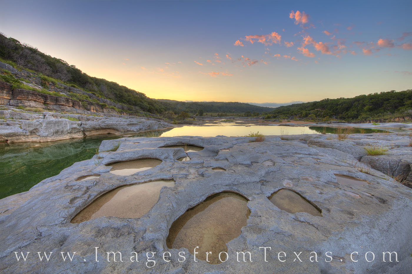 texas hill country, pedernales, pedernales river, hill country, texas state parks, texas parks, sunrise, texas, landscapes, photo