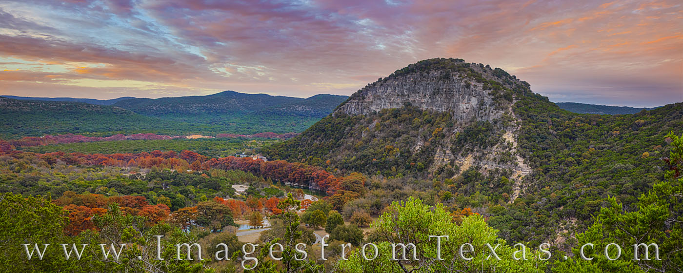 garner state park, hill country, painted rock, old baldie, evening, hiking, state parks, frio river, cypress, oak, fall colors, autumn, november, photo