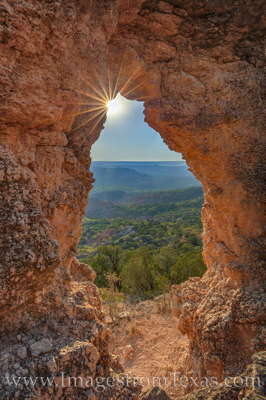 palo duro canyon, palo duro prints, west texas, arch, alter, east rim, fortress cliff, off-trail, photo
