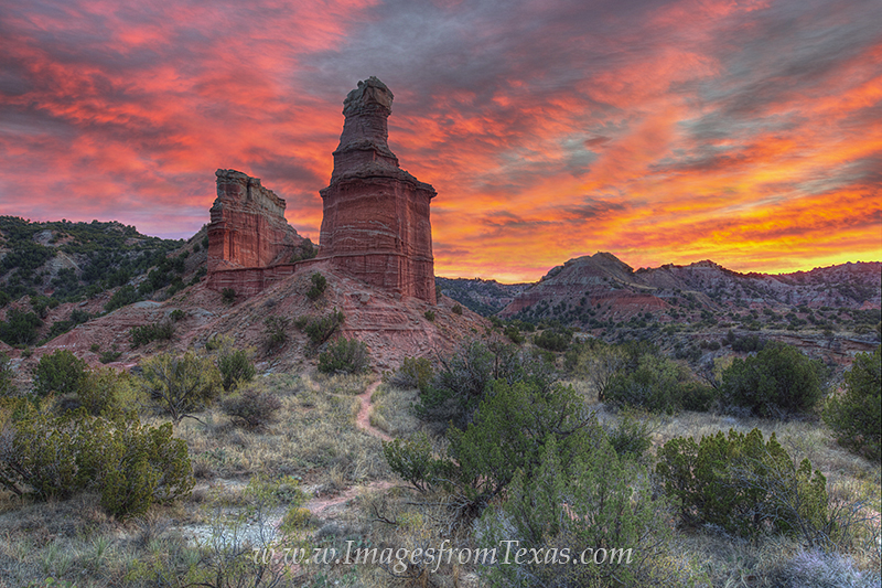 palo duro canyon,palo duro canyon prints,palo duro canyon photos,the lighthouse,texas landscapes,texas landmarks,texas images, photo