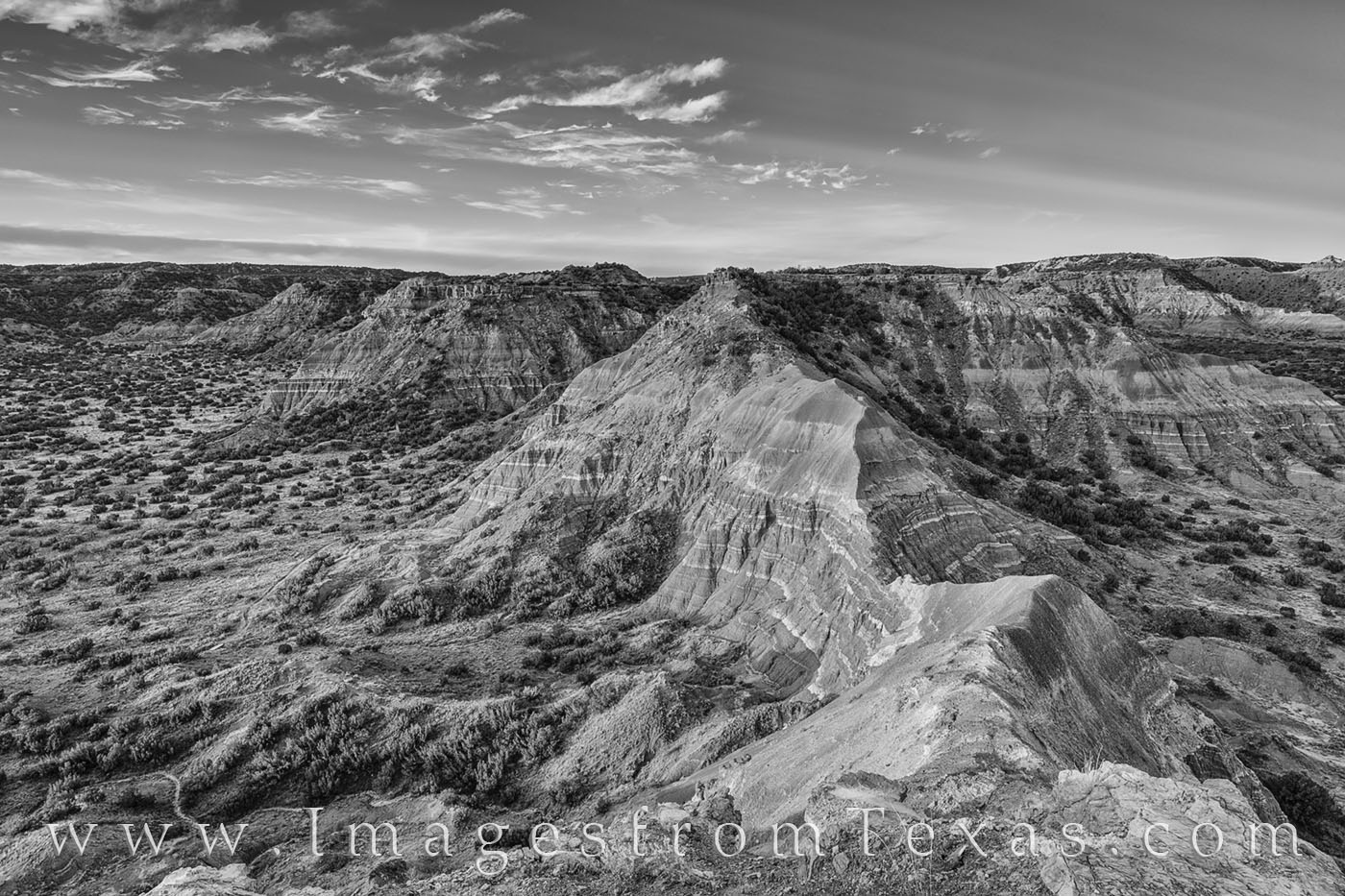 palo duro canyon, capitol peak, texas panhandle, sunrise, morning, texas canyon, orange, state park, black and white, photo