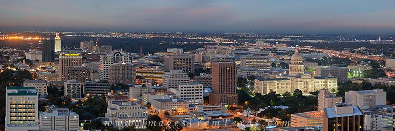 Downtown Austin Pano,Texas State Capitol pano,Texas Capitol pano,Austin city panorama,Austin Texas, photo