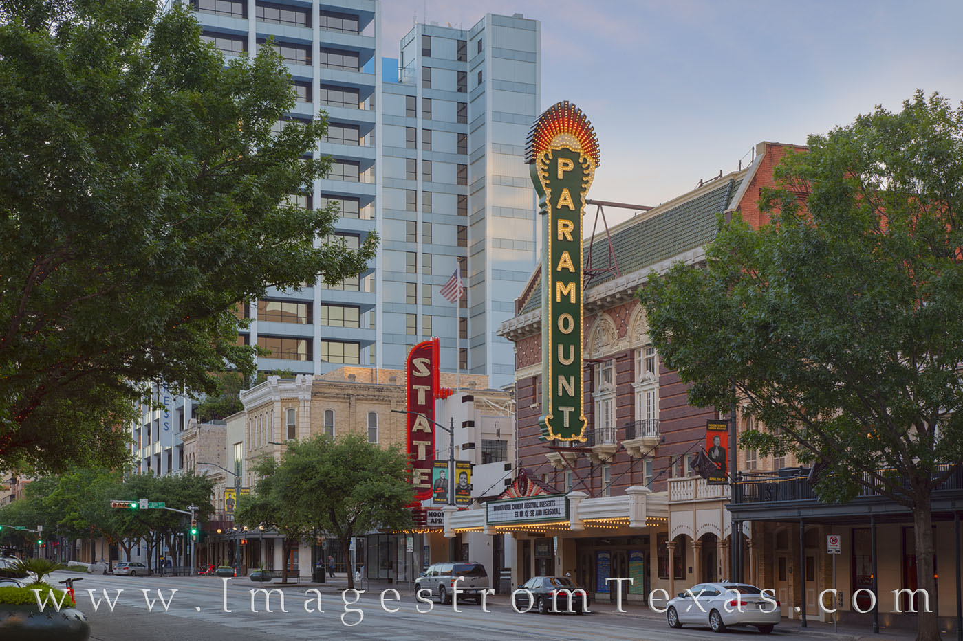 austin, paramount, historic places, downtown austin, congress avenue, theater, photo