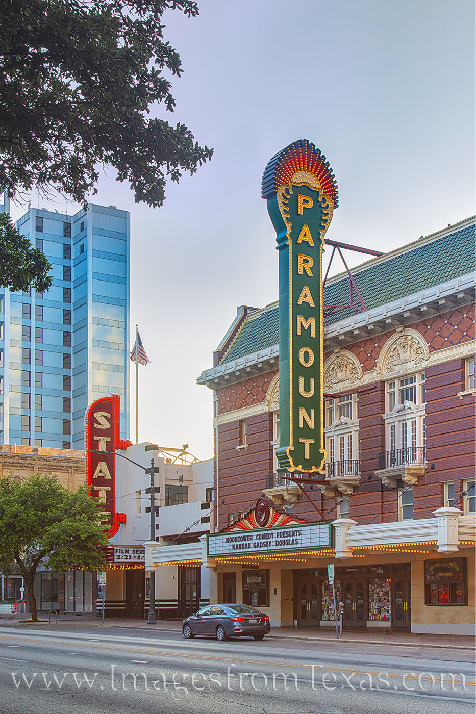 paramount theater, live theater, congress, austin texas, photo