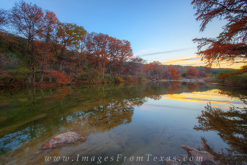 pedernales falls state park,texas hill country pictures,fall colors in texas,autumn color,texas landscapes, photo