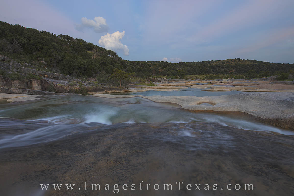 texas hill country, pedernales falls, pedernales river, photo