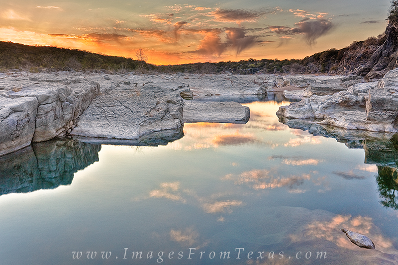 The sunset was pretty and amazing at Pedernales Falls State Park on this January evening. My hands were nearly frozen while capturing...