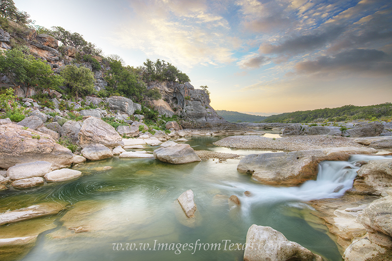 texas hill country photos,pedernales falls state park,pedernales falls images,texas sunrise,texas landscapes, photo