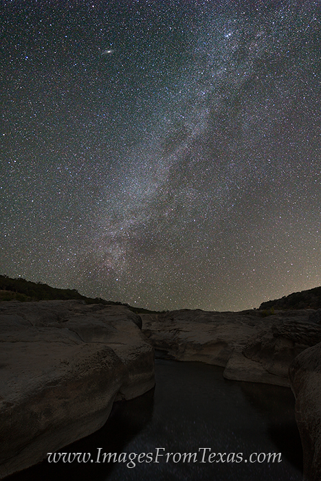 pedernales falls images,milky way images,texas hill country prints,texas hill country,milky way over Texas, photo