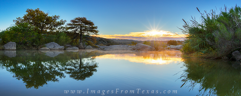 pedernales falls,pedernales falls state park,texas hill country prints,texas hill country photos,hill country,texas landscapes,texas panoramas,sunrise, photo