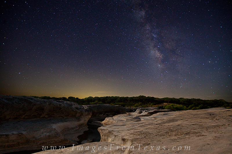 pedernales falls state park,texas hill country,milky way,texas landscape, photo