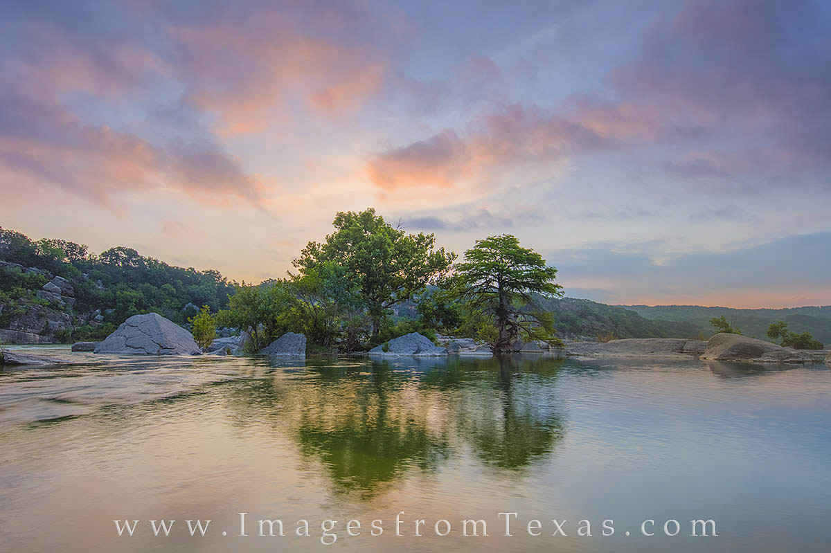 Pedernales River, Pedernales Falls, Texas Hill Country, Texas landscapes, texas sunrise, texas images, texas photographs, images of texas, photo