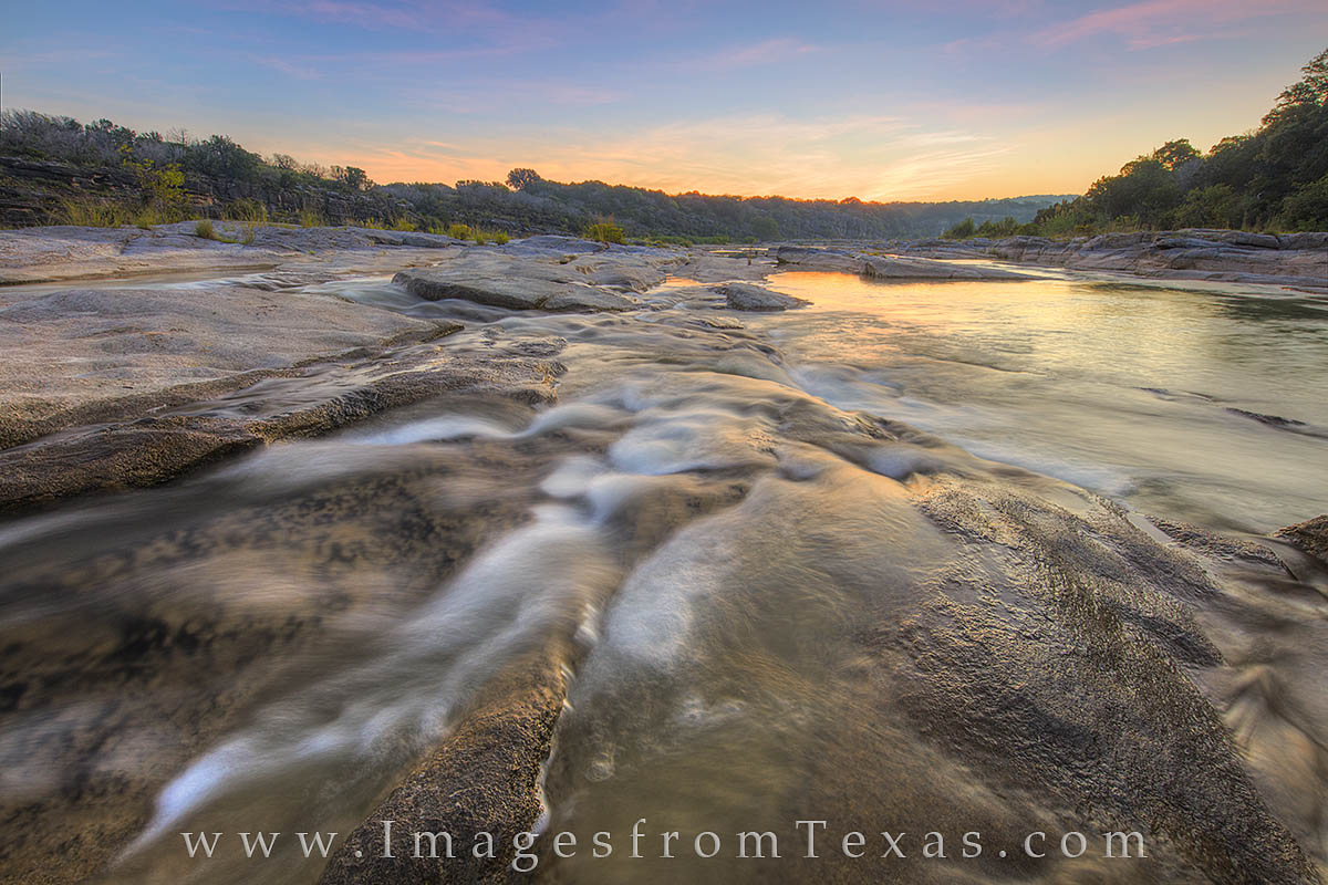 At one of my favorite locations along the Pedernales River, this is just another beautiful sunrisef - this time in the early...