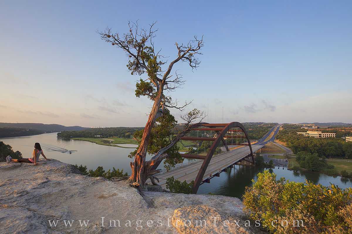 360 bridge, pennybacker bridge, austin bridges, 360 bridge images, pennybacker bridge images. austin skyline, austin icons, austin images, austin texas, photo