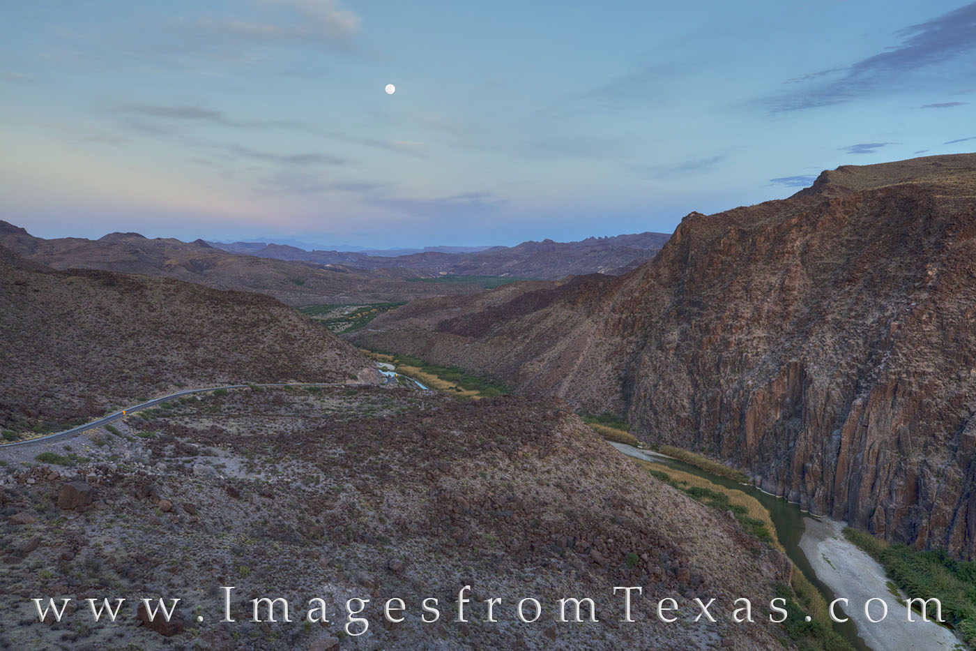 big bend ranch state park, moonrise, rio grande, dom hill, big hill, texas border, texas landscapes, big bend, FM 170, lajitas, photo