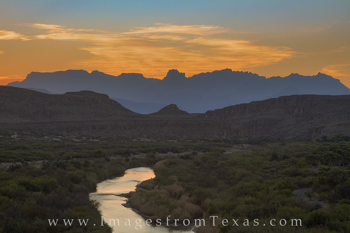 big bend national park, chisos mountains, rio grande, texas mexico border, sunset, texas landscapes, texas sunset