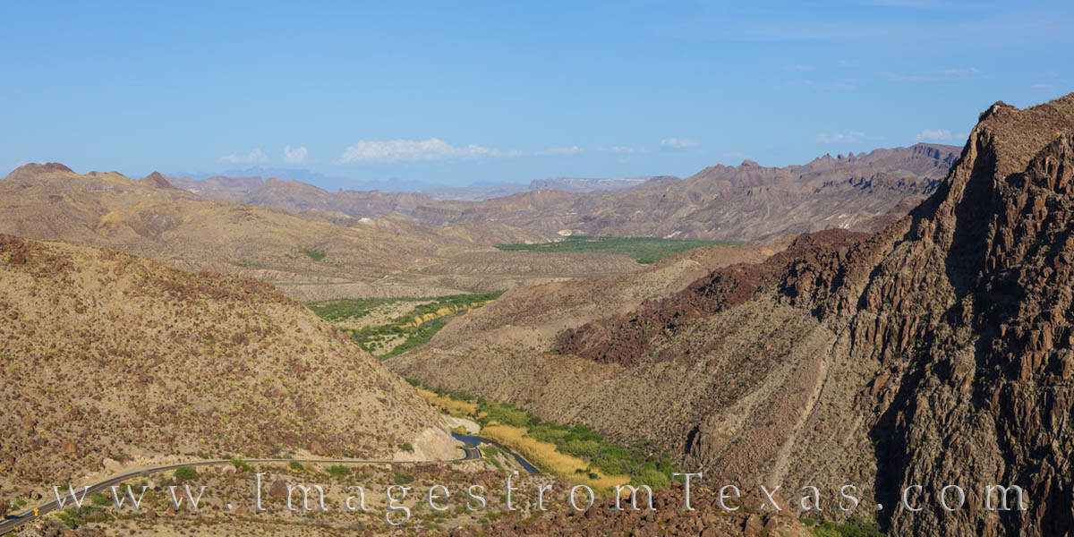 FM 170, Rio Grande, Big Bend Ranch, Big Bend, Dom Rock, panorama, west texas, texas landscape, photo