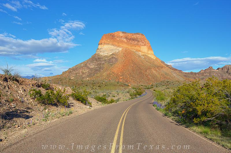 big bend national park,cerro castellan,big bend drives,ross-maxwell,texas landscapes, photo
