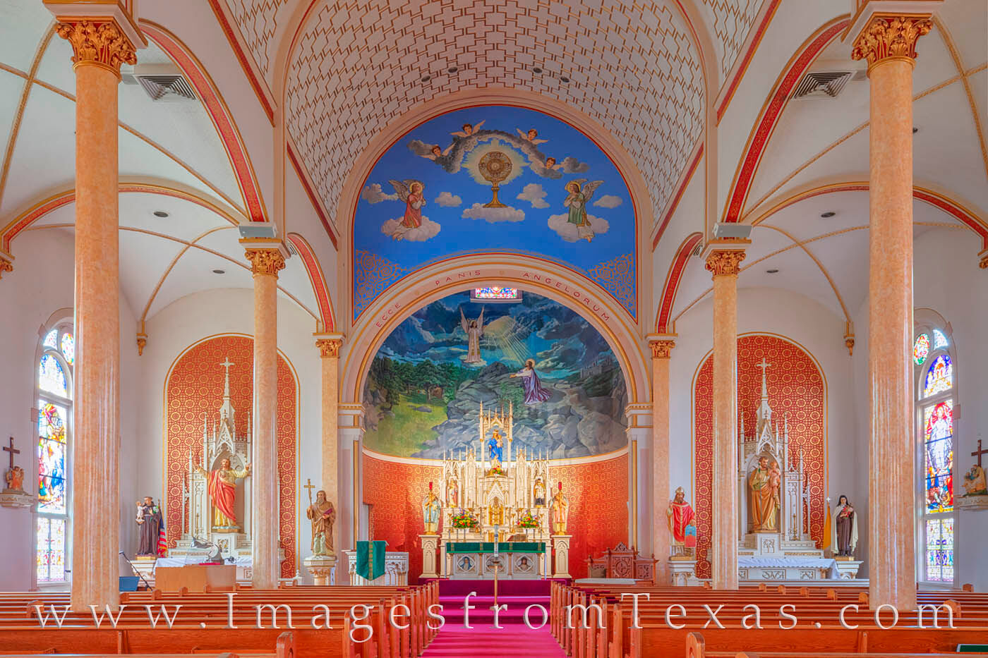 Shiner, Texas, is known for many things - its country beauty, its beer, and its famous Painted Church. St. Cyril and Methodius...