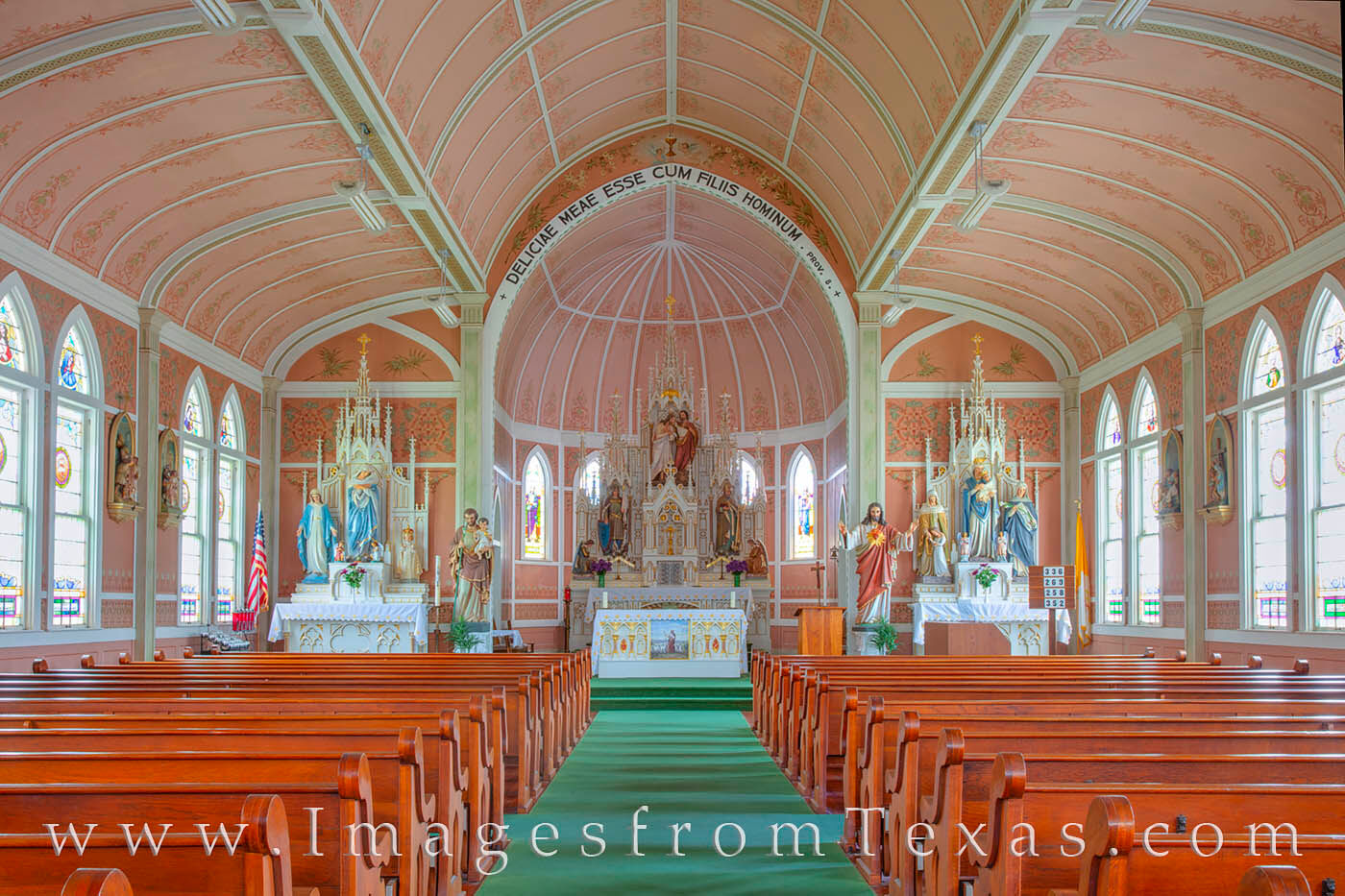Located in Ammannsville, Saint John the Baptist Catholic Church  was built in 1919 and is part of the National Register of Historic...