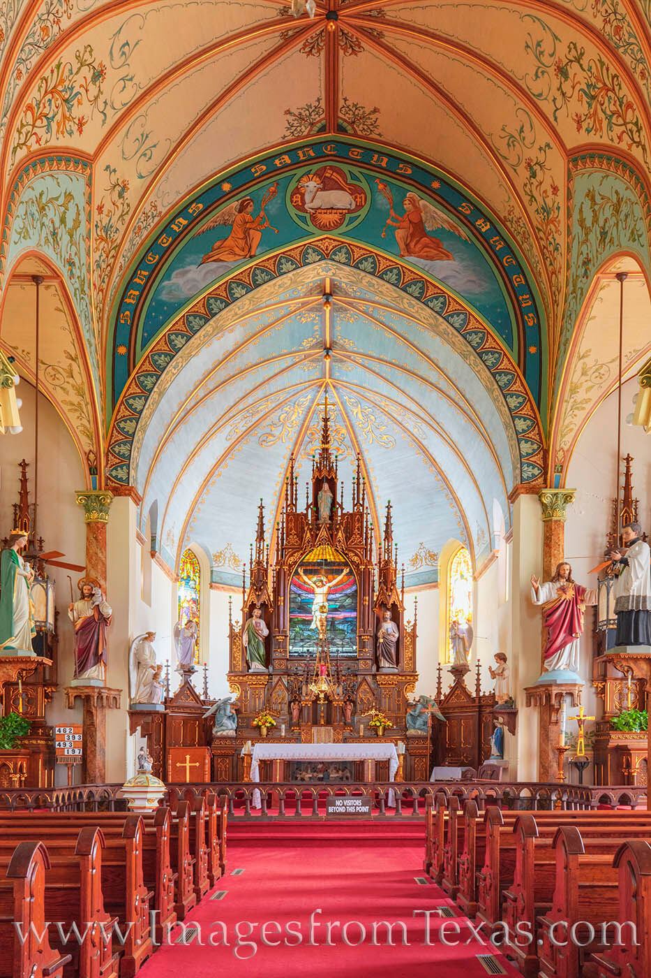 St. Mary Catholic Church rests in Fayette County near Schulemburg. It was built in 1906 and is known as the Queen of the Painted...