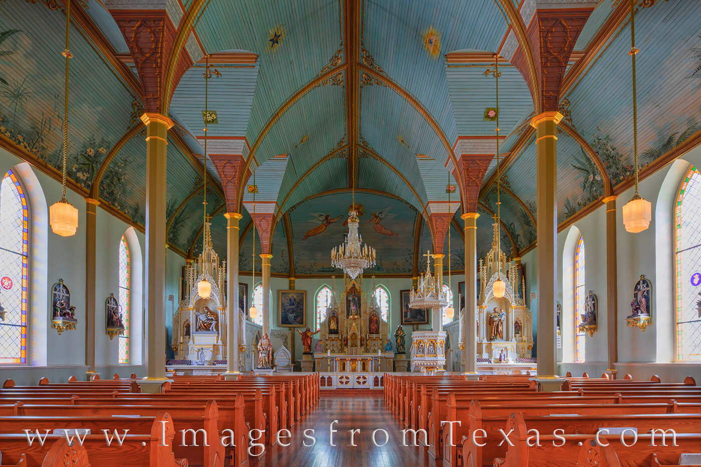 As one of the oldest of the Painted Churches in Texas, St. Mary's Church of the Assumption in Praha was built in 1895. As you...