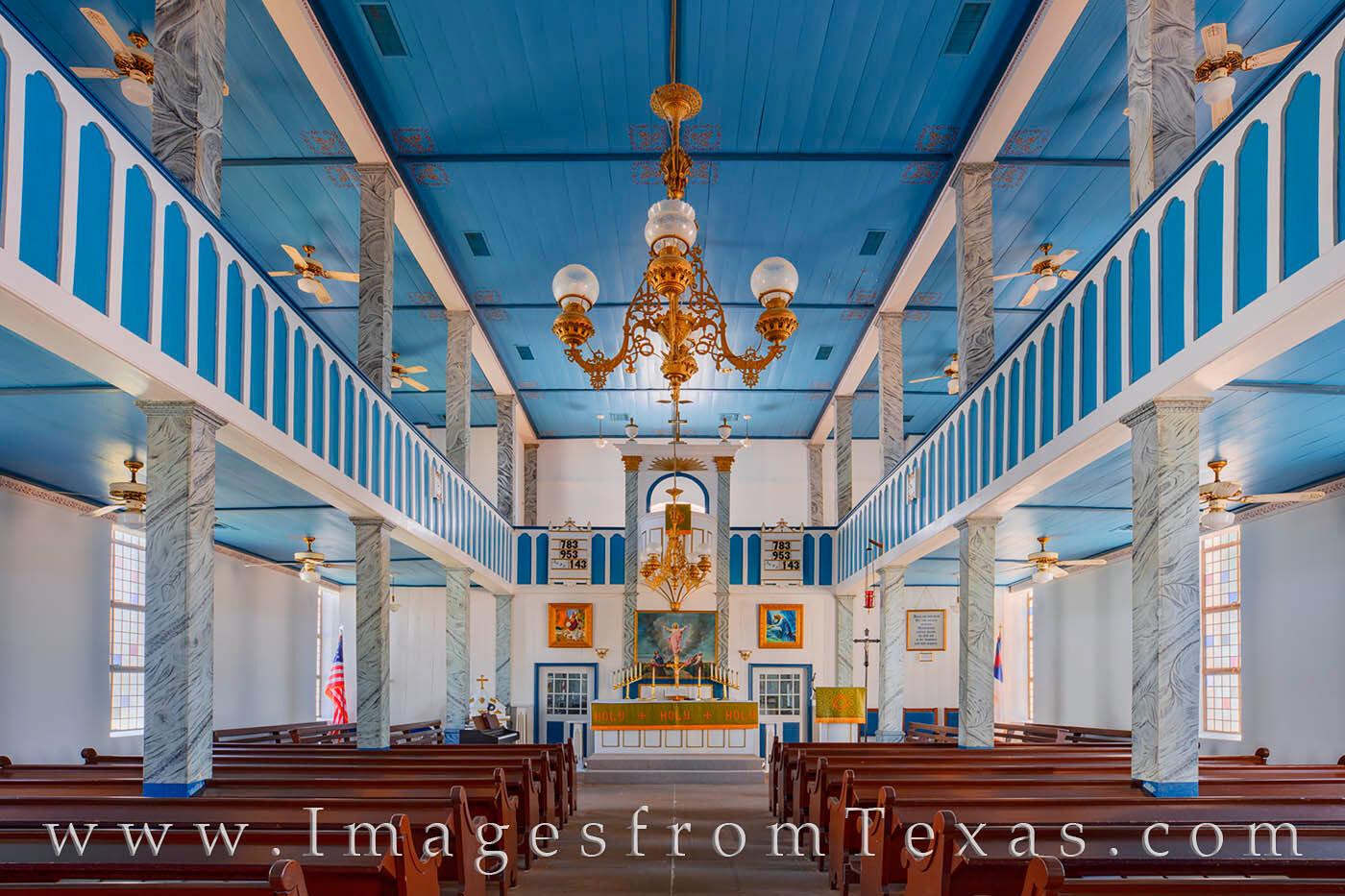 Located in Serbin, Texas, St. Paul Lutheran Church is one of the famed Painted Churches of Texas. Located in the bucolic rolling...