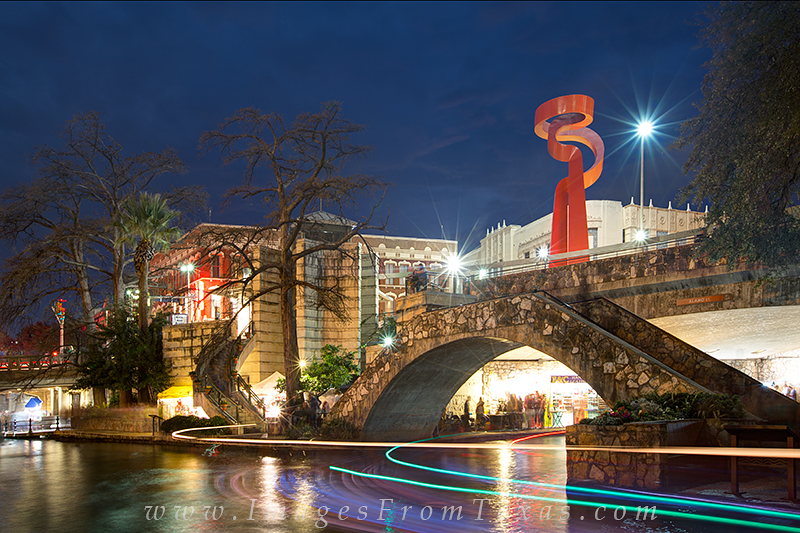 riverwalk,torch of friendship,san antonio prints,riverwalk photos,san antonio tourism, photo