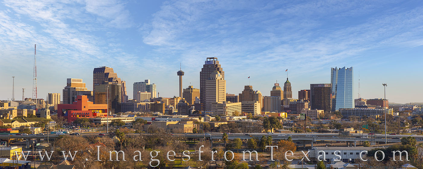 san antonio skyline, san antonio, downtown, tower of the americas, frost tower, tower of life, texas skylines, downtown san antonio, photo