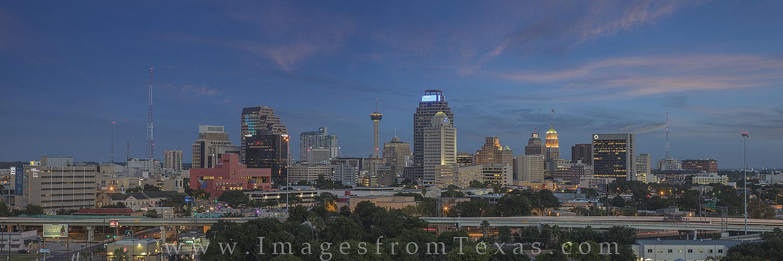 san antonio skyline, san antonio panorama, san antonio photos, san antonio cityscape, downtown san antonio, san antonio images, san antonio night, photo
