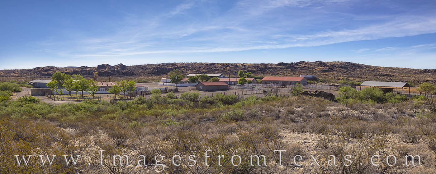 sauceda ranch house, big bend ranch state park, west texas, texas state park, bbrsp, desert, remote, ranch, photo