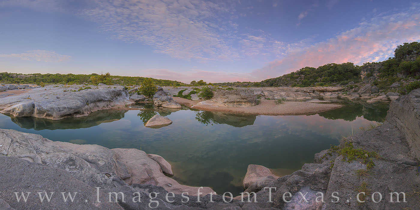 pedernales falls, texas hill country, pedernales falls state park, texas state parks, texas parks, pedernales river, texas landscapes, texas water, texas rivers, sunrise, photo
