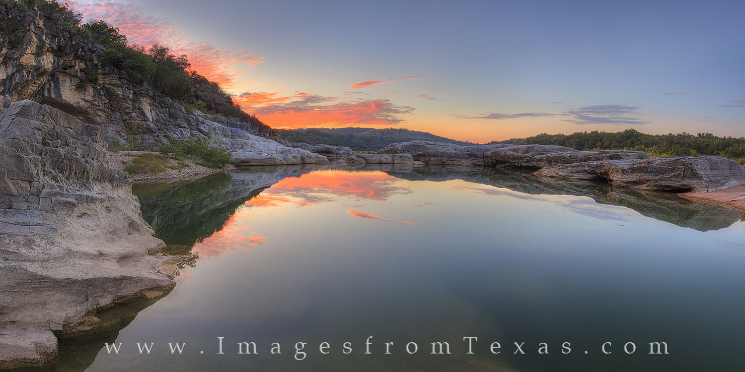 Pedernales Falls, Texas Hill Country, Pedernales River, sunrise, water, quiet, limestone, state park, texas sunrise, texas state park, photo