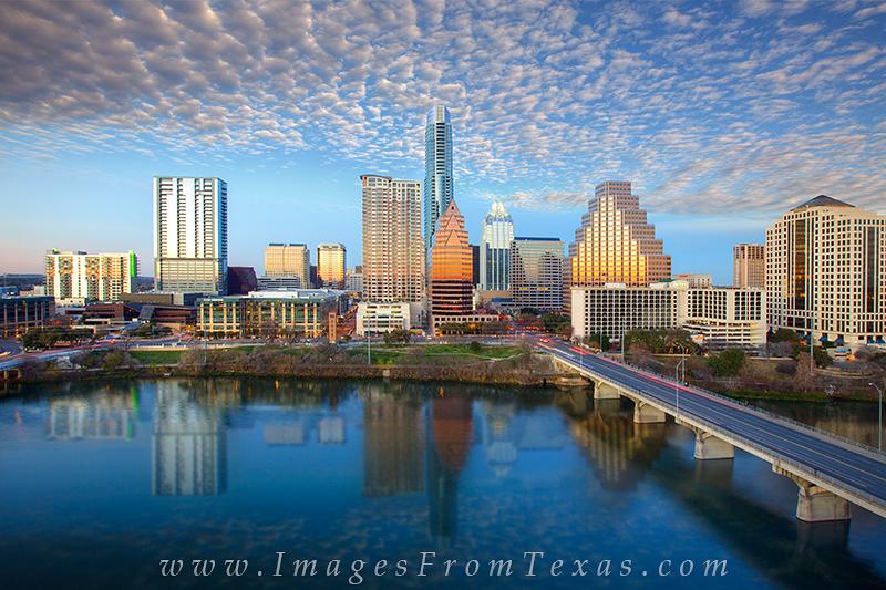 Austin from the Hyatt,Congress Bridge,Austin skyline,Austin cityscape, photo
