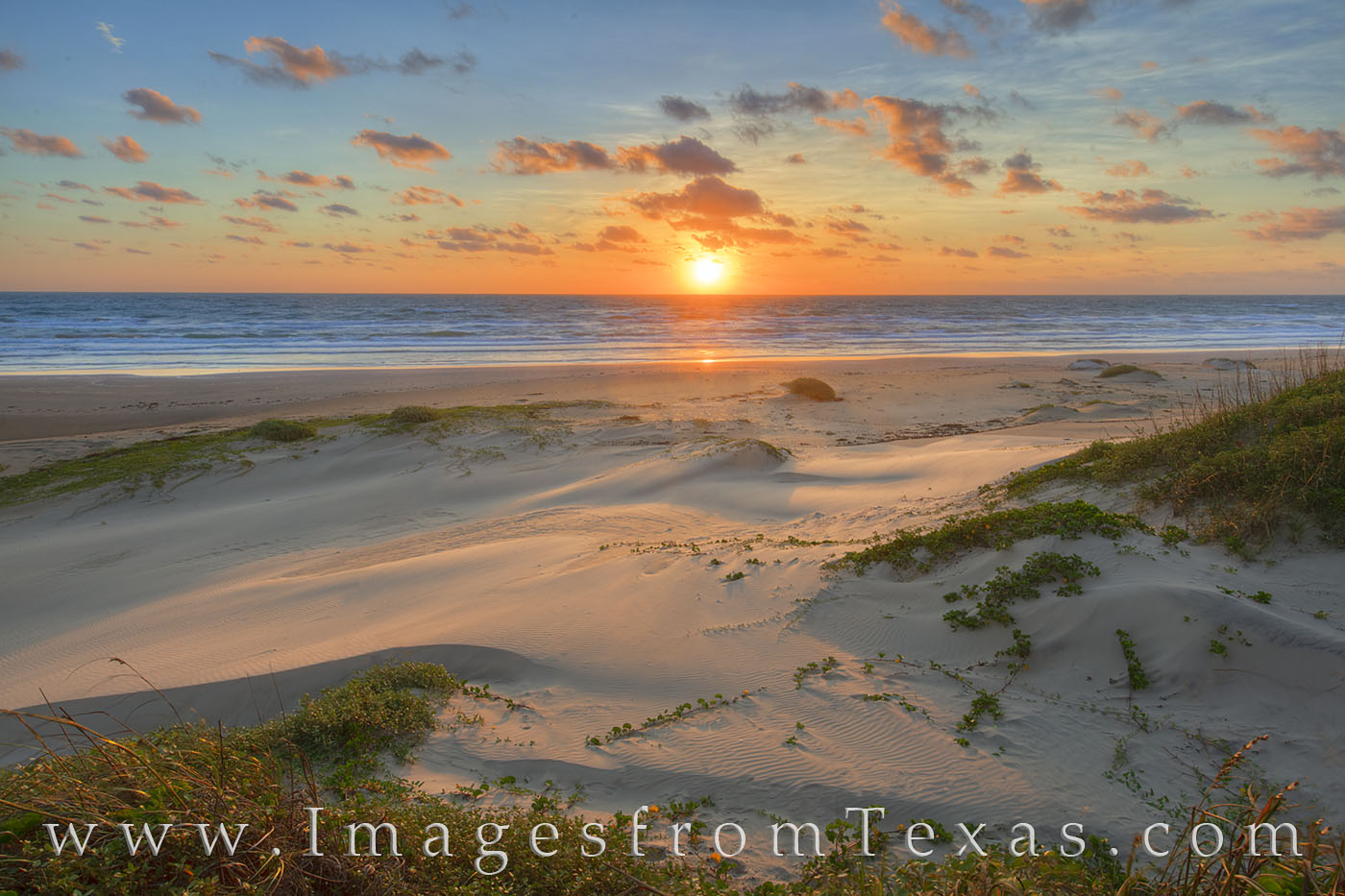 south padre island, port isabel, beach, sand, dunes, sunrise, brownsville, morning, sun, orange, blue, texas coast, coast, gulf of mexico, photo