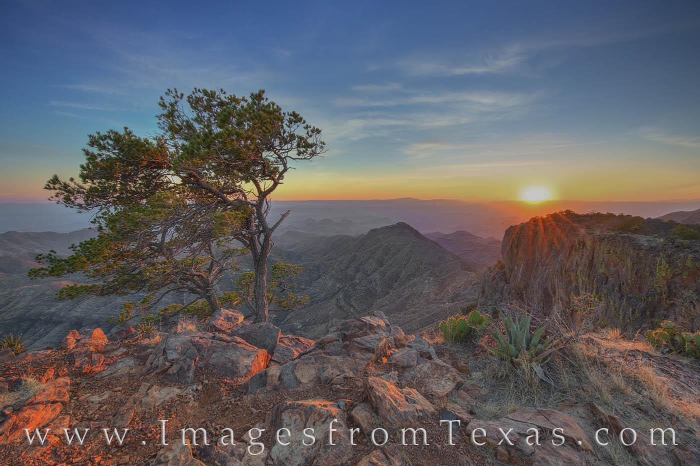 south rim, sunset, big bend sunset, BBNP, evening. hiking, hiking texas, landscapes, big bend prints, photo