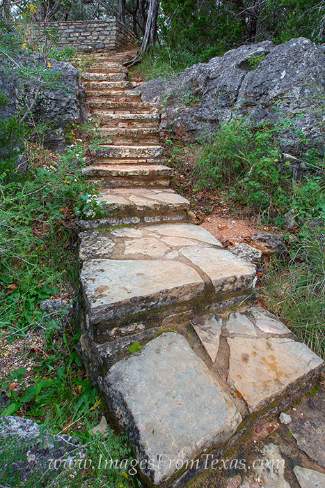Watch your step as you climb to the viewing area at Pedernales Falls State Park. Its only a short stroll, and when you are at...