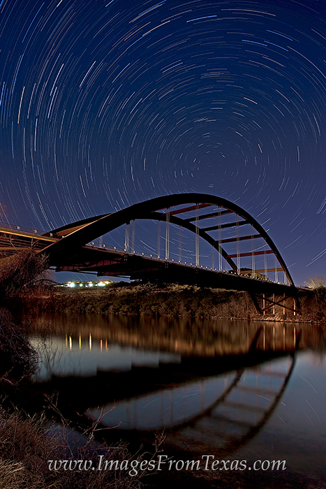 360 bridge prints,pennybacker bridge pictures,star trails, photo