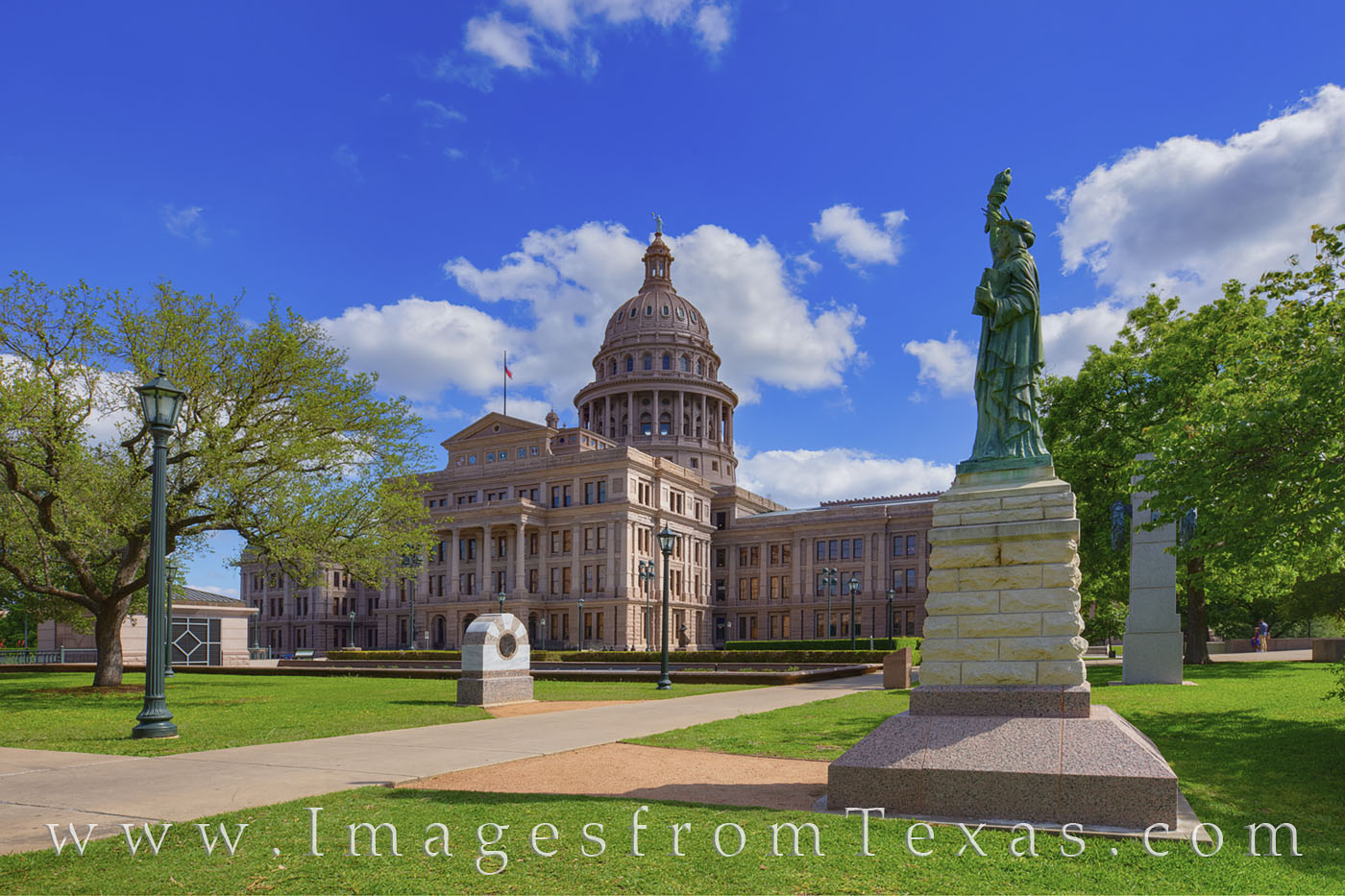 statue of liberty, texas capitol, state capitol, boy scouts, austin, memorial, monument, photo