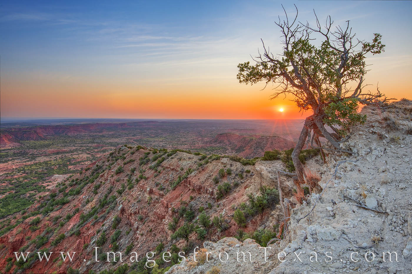 caprock canyons, sunrise haynes ridge, hiking texas, caprock canyons prints, texas landscapes, west texas, texas prints, north prong, morning, photo