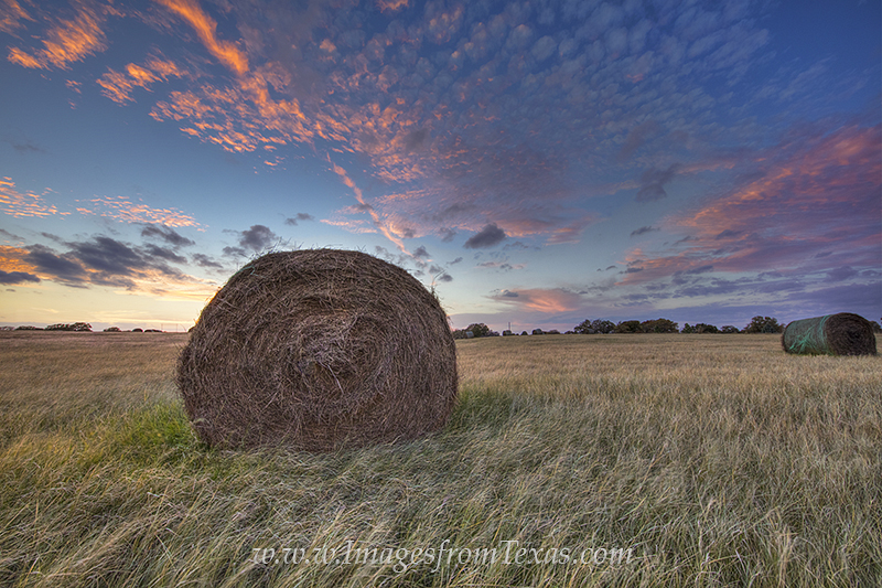 texas ranch images,hay images,texas hay,texas ranch prints,texas sunset,hay bales,prints, photo